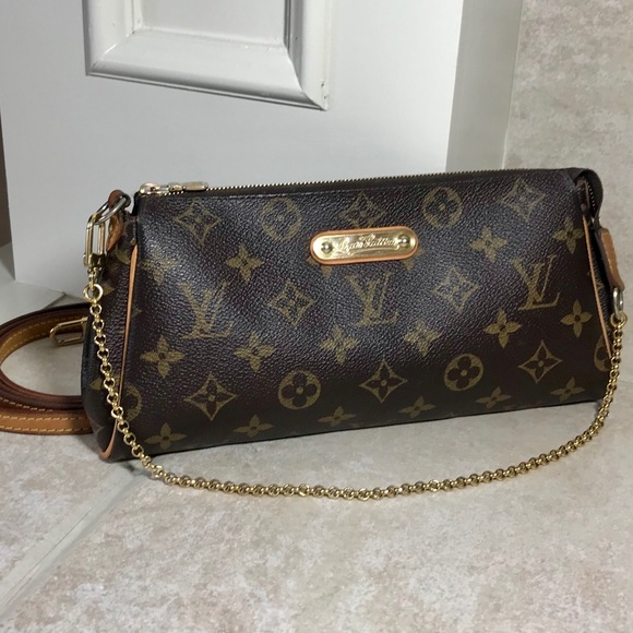8969a1a3e3ee1 Louis Vuitton Bags | Authentic Monogram Eva Clutch | Poshmark
